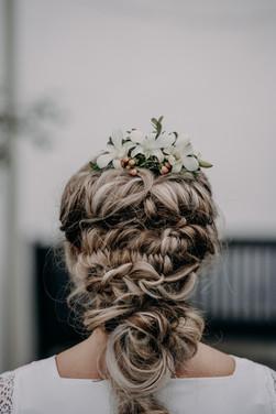 Boho Wedding Hair Braid