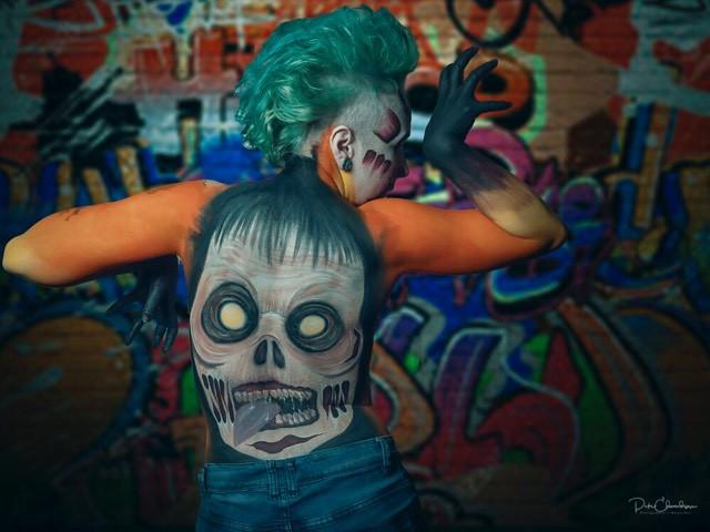 Zombie Body Paint
