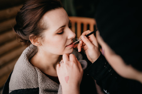 Bridal Makeup Application