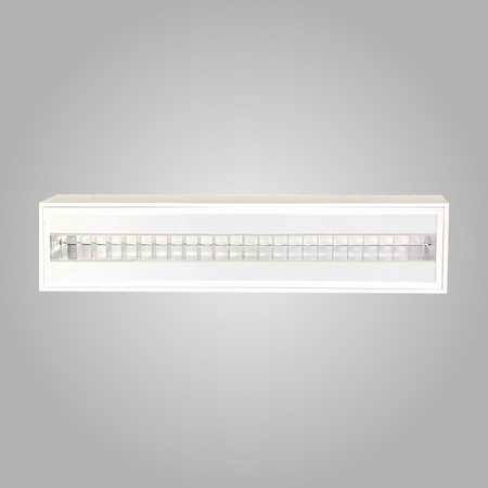 Low Glare LED Louvered Troffer
