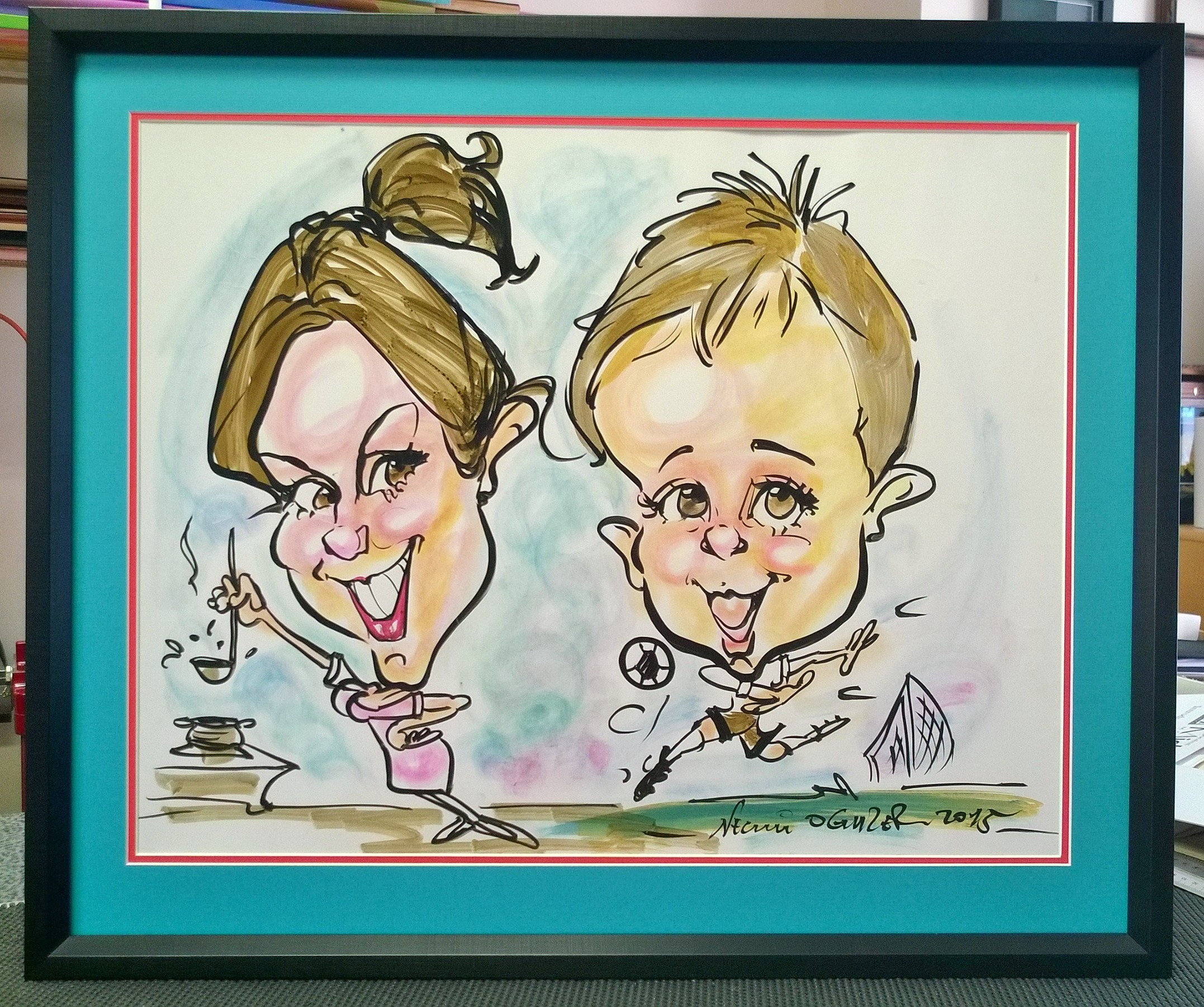 Holiday Caricature