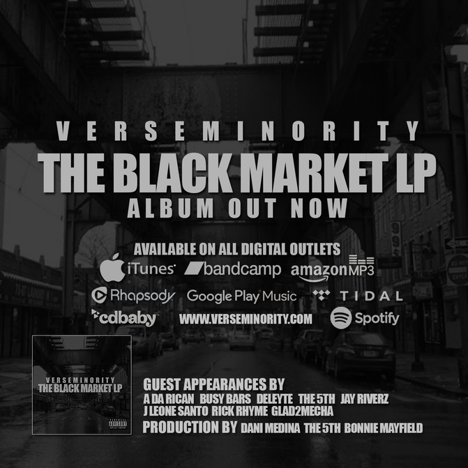 THE BLACK MARKET LP IS OUT NOW!!!!