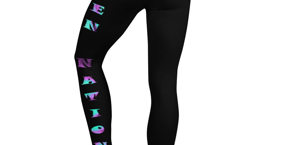 Alien Nation Leggings