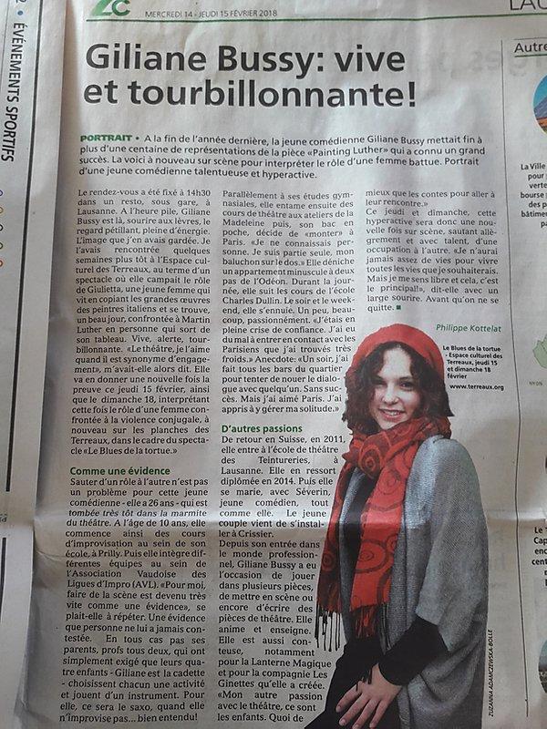 Lausanne cité 14.02.18
