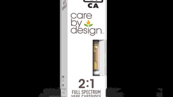 Care By Design - 2:1 CBD Vape Cartridge