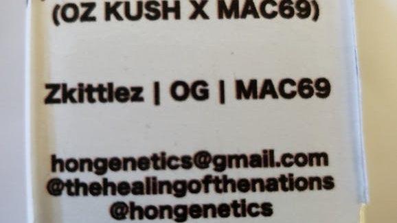 Hon Genetics - MAC OZ (OG Kush x MAC69)