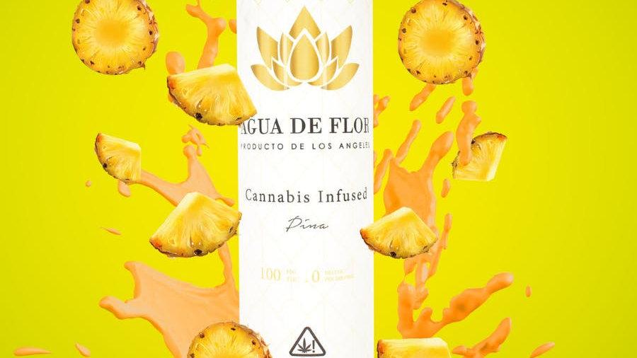 Agua De Flor - Pina (Pinapple) 100mg