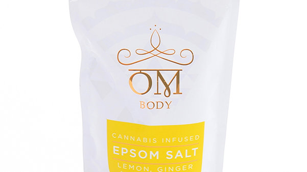 OM - Lemon Ginger Eucalyptus Epsom Salt