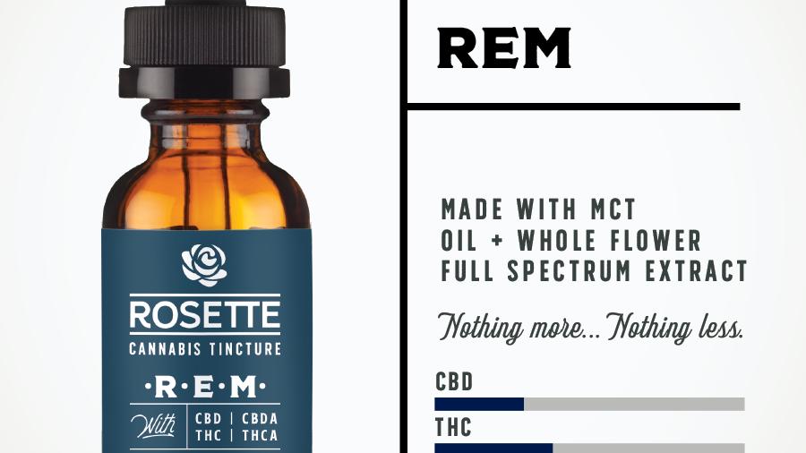 Rosette Wellness R.E.M. Cannabis Tincture
