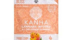Kanha - Peach CBD 4:1 Gummies