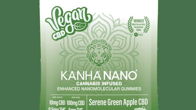 Kanha - Nano Serene Green Apple CBD 20:1 Gummies