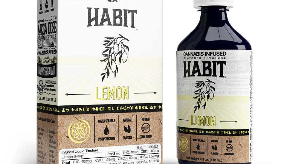Habit - Lemon Syrup 400mg
