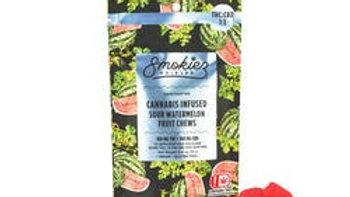 Smokiez - Sour Watermelon 1:1 100mg THC/100mg CBD