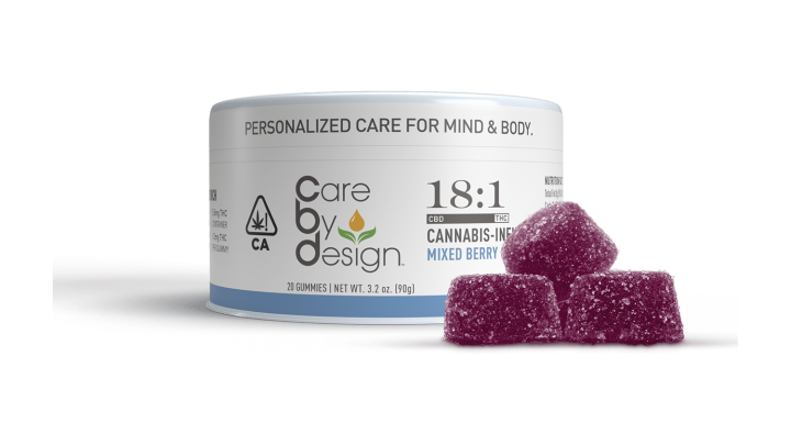 Care By Design - 18:1 Mixed Berry Gummies