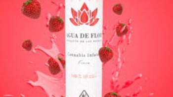 Agua De Flor - Fresa (Strawberry) 100mg
