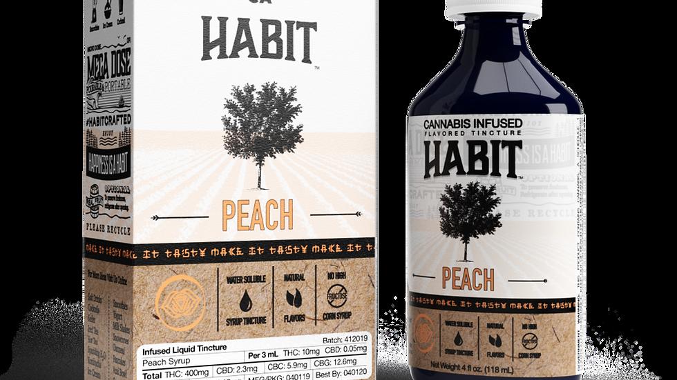 Habit - Peach Syrup 400mg