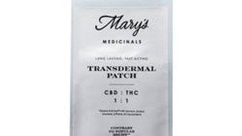 Mary's Medicinals - 1:1 CBD/THC Transdermal Patch