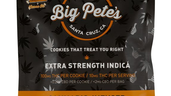 Big Pete's - Extra Strength 100MG Peanut Butter Cookie