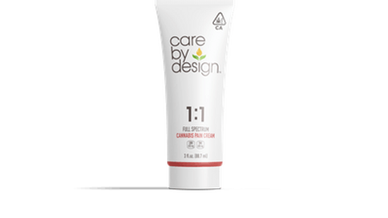 Care By Design - 1:1 Pain Cream 3oz