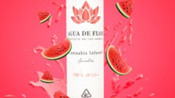 Agua De Flor - Sandia (Watermelon) 100mg