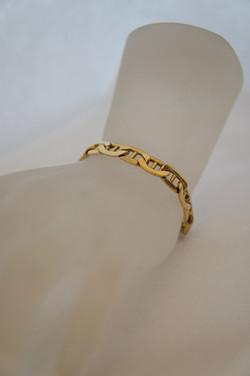 Anchor Link Bracelet 14KT Y_G
