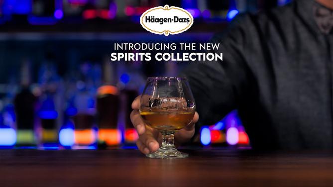 Häagen-Dazs Spirits Campaign