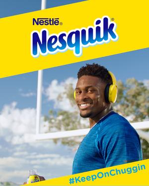Nesquik with DK Metcalf