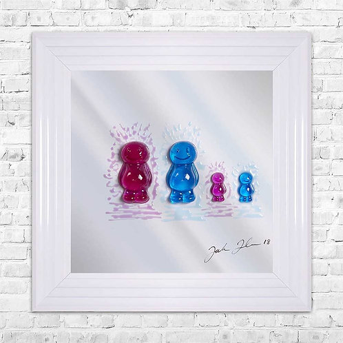 Johnson Jelly Babies - 55 x 55 cm
