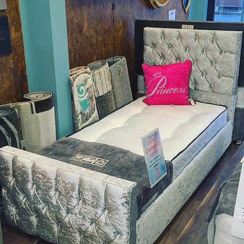 3ft Florida Bumper Bed Frame and FREE Bella Mattress