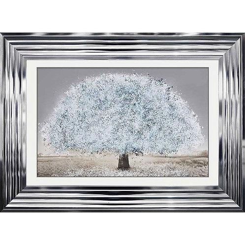 White Blossom Tree - 114 x 74 cm
