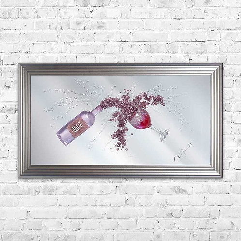 Johnson Pink Gin - 115 x 64 cm