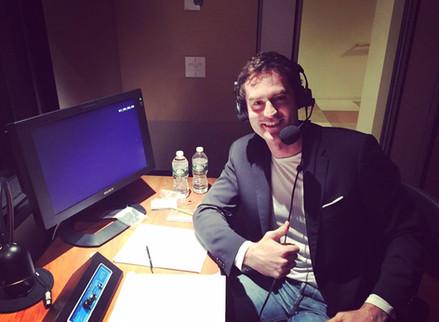 WWE network announcer