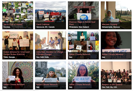 Women Act for Climate Justice: Ten Days of Global Mobilization