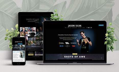 "Jason Silva | Storyteller, Futurist, Keynote Speaker Known for hosting National Geographic's ""BrainGame..."