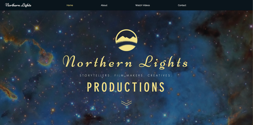 Northern Lights Productions Logo