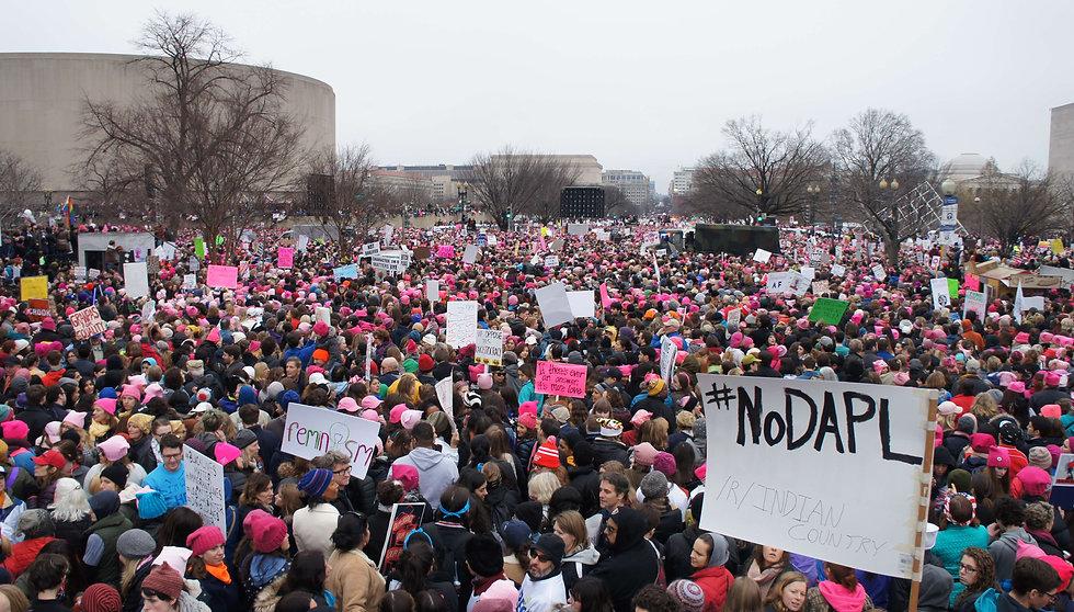 Women's March on Washington D.C - Photo via Emily Arasim/WECAN International