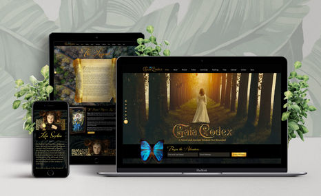 Gaia Codex | A Novel by Sarah Drew Enter the world of Gaia Codex and discover the sec...
