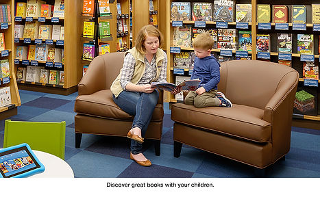 Kids Rating Cards designed for the first Amazon Bookstore
