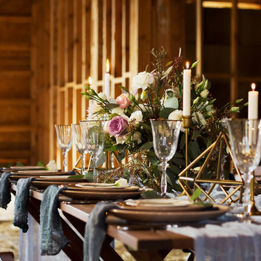 Table Setting at Rhine Valley Farm