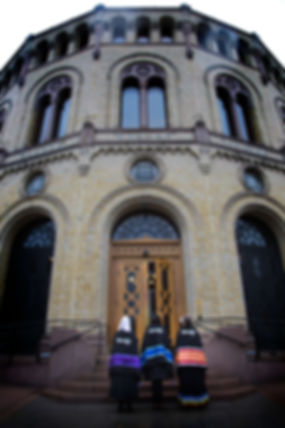 Delegates at the Norwegian Parliament - Photos via Teena Pugliese- Photo via Teena Pugliese/WECAN International