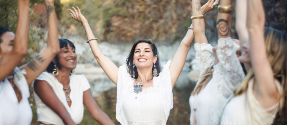 You are the divine mother: healing your body temple
