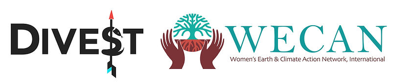 wecan and divest logos