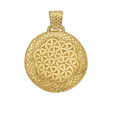 Hathor Flower of Life Stargate Pendant