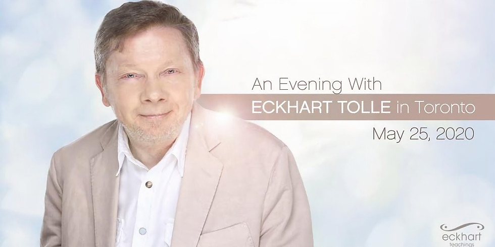 Eckhart Tolle   Toronto, Canada