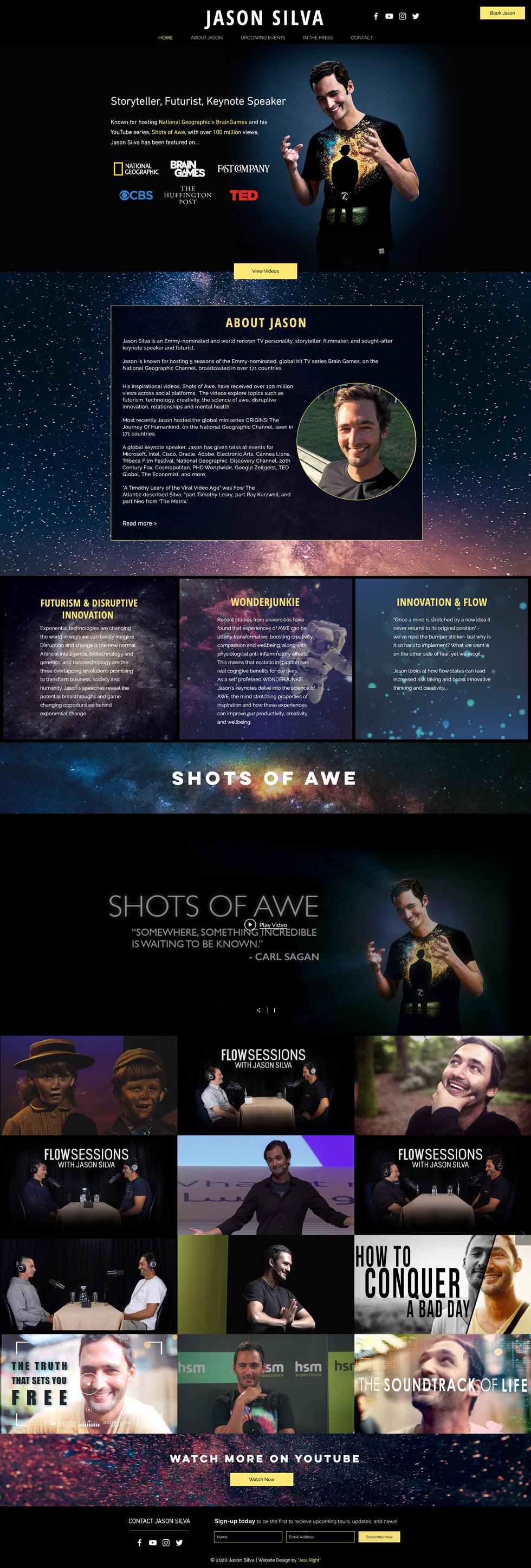 Jason Silva New Site