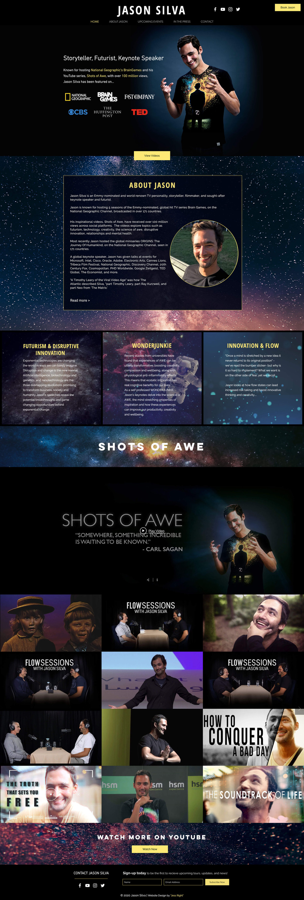 Jason Silva New Site