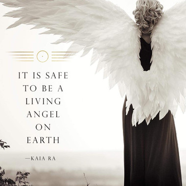 It is Safe to Be A Living Angel on Earth
