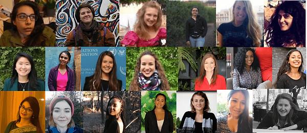 Members of the 2018/2019 Women Speak Research team