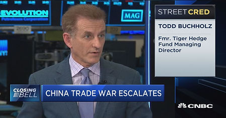 CNBC | Trade War | Closing Bell with Todd Buchholz