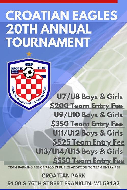 Croatian Eagles 20th Annual Tournament